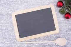 Conseil pour le copyspace Noël et an neuf images libres de droits