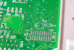 Conseil principal de l'électronique micro Photographie stock