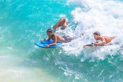 Conseil Waikiki de boogie Photo libre de droits