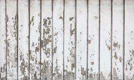 Conseils couverts de peinture criquée blanche photo stock