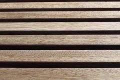 Conseils dans le banc en bois Photographie stock libre de droits
