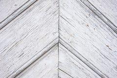 Conseils diagonaux peints vieux par blanc Images libres de droits