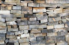 Conseils en bois Photo stock