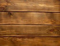 Conseils en bois Brown le plancher de texture de papier peint photographie stock libre de droits