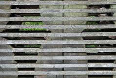 Conseils en bois empilés afin de sécher image stock