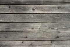 Conseils en bois fanés d'âge image libre de droits