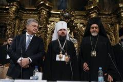 Consejo de la unidad de las iglesias ortodoxas ucranianas fotos de archivo libres de regalías