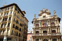 Consejo de Pamplona en Navarra Fotos de archivo