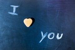 Consejo escolar del amor fotografía de archivo