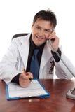 Consejo médico o consulta foto de archivo