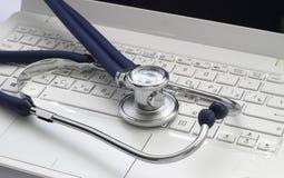 Consejo médico en línea Imagen de archivo libre de regalías