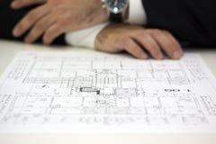Conselho arquitectónico Imagem de Stock Royalty Free