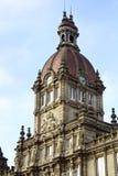 Conselho Municipal a cidade de um Coruna, Spain Foto de Stock