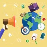 Consept of marketing process Royalty Free Stock Photo