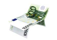 Consept of money euro Royalty Free Stock Photo