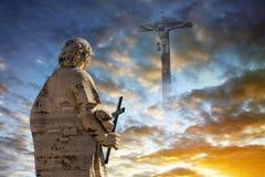 conseptscristianityreligion Arkivfoton