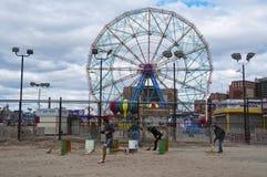 Consequências de Sandy do furacão Imagem de Stock Royalty Free