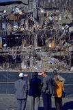 Consequências do terramoto de Northridge Imagem de Stock Royalty Free