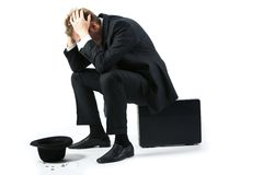 Consequences of crisis Stock Photo