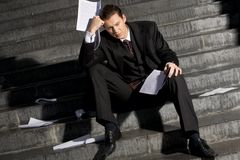 Consequences of crisis Stock Images