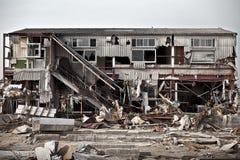 Tsunami japan 2011 fukushima. Consequences of the tsunami in Japan in 2011, Fukushima, 03/30/2011 Royalty Free Stock Images
