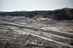 Tsunami japan 2011 fukushima. Consequences of the tsunami in Japan in 2011, Fukushima, 03/30/2011 Stock Photography