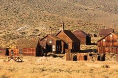 Conserva da cidade fantasma em Bodie California fotos de stock