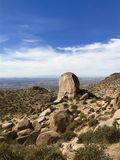 Conserva de natureza de McDowell, Scottsdale, o Arizona Fotografia de Stock Royalty Free