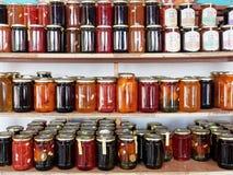 Conserva frutta localmente prodotta, Grecia fotografia stock