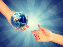 Conservando nosso planeta foto de stock