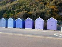 Conservante bluesky do abrigo da cabana do armazém de madeira Fotos de Stock Royalty Free