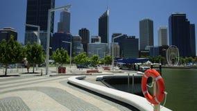 Conservante de vida rojo Perth almacen de video
