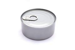 Conservas alimentares isoladas no fundo branco Imagem de Stock Royalty Free