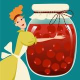Conservas do fruto Imagem de Stock Royalty Free