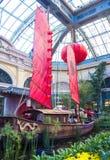 Conservatório do hotel de Bellagio & jardins botânicos Imagem de Stock