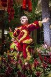 Conservatório do hotel de Bellagio & jardins botânicos Fotografia de Stock