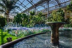 Conservatório do leste - jardins de Longwood - PA Fotografia de Stock