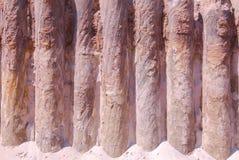 Conservation des piles Photographie stock libre de droits
