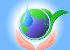 Conservation environnementale, vecteur Image libre de droits