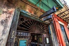 Conservation Hall à la Nouvelle-Orléans Images libres de droits