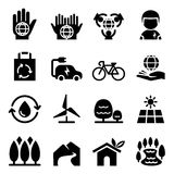 Conservation icon Royalty Free Stock Images