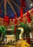 Conservatoire d'hôtel de Bellagio et jardins botaniques Images stock