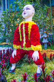 Conservatoire d'hôtel de Bellagio et jardins botaniques Image stock