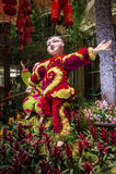 Conservatoire d'hôtel de Bellagio et jardins botaniques Photographie stock