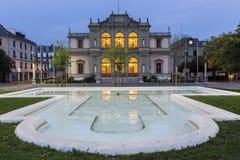 Conservatoire de Musique de Genève在瑞士 免版税库存照片