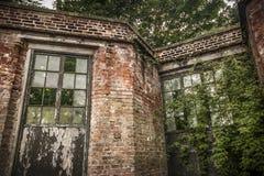 Conservatorio abbandonato Fotografia Stock