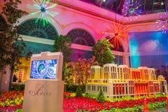 Conservatorio dell'hotel di Bellagio & giardini botanici Fotografia Stock Libera da Diritti