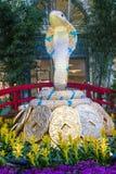 Conservatorio dell'hotel di Bellagio & giardini botanici Fotografia Stock