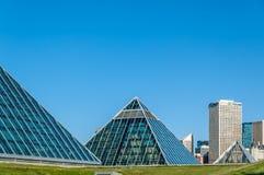 Conservatorio di Muttart, Edmonton Fotografia Stock Libera da Diritti