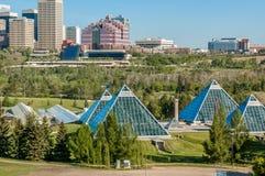 Conservatorio di Muttart, Edmonton Immagini Stock Libere da Diritti
